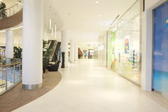 Interior of the Crocus City Mall Royalty Free Stock Images