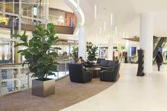 Interior of the Crocus City Mall. Royalty Free Stock Photos