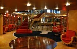 Interior cruise liner Royalty Free Stock Photo