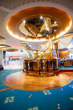 Interior on Cruiseship - Main View. Interior onboard Navigator of the Seas taken in 2014 Stock Photography