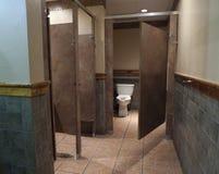 Interior cuarto de baño del asador, Fort Smith, AR Imagen de archivo