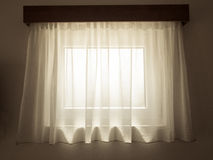 Interior curtain Stock Images