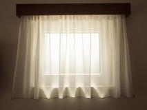Interior curtain Stock Images
