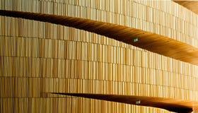 Interior da ópera moderna nova em Oslo Fotografia de Stock Royalty Free