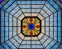 Interior da abóbada do Capitólio do estado de Indiana Fotografia de Stock Royalty Free