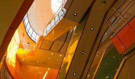 Interior da alameda no tempo do dia Imagem de Stock