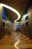 Interior da arquitetura do edifício do negócio Foto de Stock Royalty Free