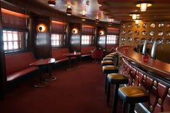 Interior da barra do cruzeiro Imagens de Stock Royalty Free