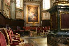 Interior da basílica Imagem de Stock Royalty Free