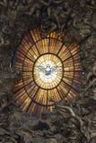 Interior da basílica de St Peter s, Vaticano, Roma fotografia de stock