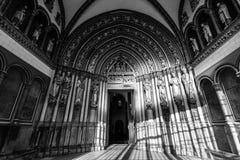 Interior da basílica de St Servatius Fotos de Stock