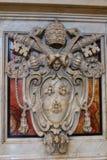 Interior da basílica do St Peters Fotografia de Stock Royalty Free