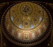 Interior da basílica em Budapest Foto de Stock