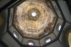 Interior da basílica Santa Maria em Fiore Foto de Stock Royalty Free