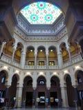 Interior da câmara municipal de Sarajevo Fotografia de Stock Royalty Free