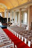 Interior da capela memorável, Universidade de Harvard Imagem de Stock Royalty Free