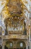 Interior da capela velha, Regensburg, Alemanha Fotografia de Stock