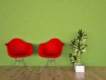 Interior da casa ilustração royalty free