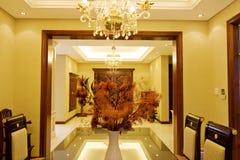 Interior da casa imagem de stock