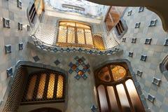 Interior da casa Batllo Fotografia de Stock