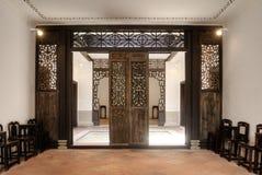 Interior da casa chinesa Fotos de Stock Royalty Free