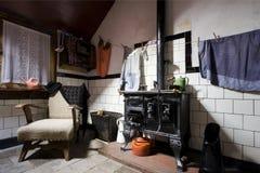 Interior da casa da exploração agrícola Imagens de Stock Royalty Free