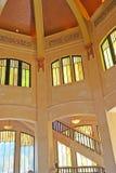 Interior da casa da vista - ponto da coroa do desfiladeiro de Colômbia Fotografia de Stock Royalty Free