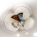 Interior da casa em pouco estilo da opinião do planeta Foto de Stock