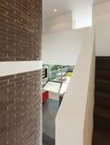 Interior da casa, opinião da passagem Fotografia de Stock Royalty Free