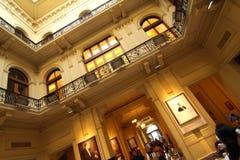 Interior da casa Rosada Fotografia de Stock Royalty Free