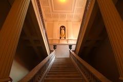 Interior da casa Rosada Imagens de Stock