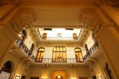 Interior da casa Rosada Imagem de Stock Royalty Free