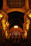 Interior da catedral Foto de Stock Royalty Free