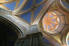 Interior da catedral Foto de Stock Royalty Free