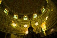 Interior da catedral de Alajuela, em Alajuela, Costa Rica Imagem de Stock