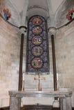 Interior da catedral de Canterbury, Inglaterra Local do património mundial do Unesco Fotos de Stock Royalty Free