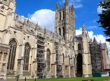 Interior da catedral de Canterbury, Inglaterra Local do património mundial do Unesco Fotografia de Stock