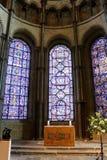 Interior da catedral de Canterbury, Inglaterra Local do património mundial do Unesco Imagem de Stock