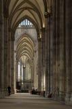 Interior da catedral de Koln Imagens de Stock