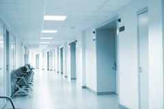 Interior da clínica Fotos de Stock Royalty Free