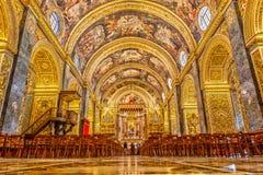 Interior da Co-catedral do St John's Imagem de Stock