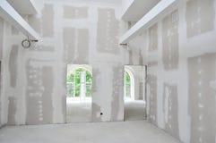 Interior da construção Home nova Imagem de Stock Royalty Free