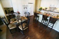 Interior da cozinha Imagem de Stock