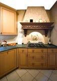 Interior da cozinha foto de stock