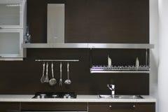 Interior da cozinha Imagens de Stock