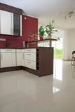 Interior da cozinha. Fotos de Stock