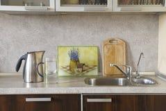 Interior da cozinha Imagem de Stock Royalty Free