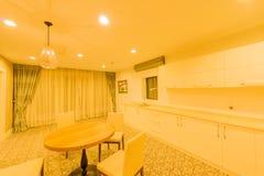 Interior da cozinha moderna Fotografia de Stock