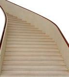 Interior da escadaria em casa imagens de stock