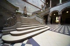 Interior da escola de ciências naturais imagens de stock royalty free